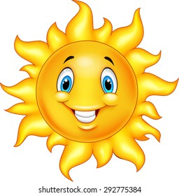 sun cartoon images stock photos vectors shutterstock rh shutterstock com cartoon pictures of the sun cartoon pictures of the sunshine