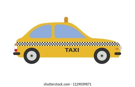 Cartoon Taxi Cab Images, Stock Photos & Vectors   Shutterstock