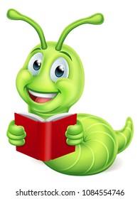 Bookworm Cartoon Images Stock Photos Vectors Shutterstock