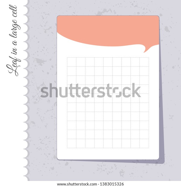photograph regarding Printable Notepad called Adorable Checkered Sheet Behavior Notepad Printable Inventory Vector