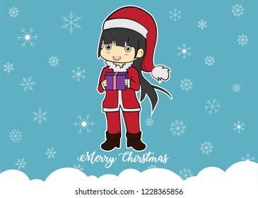 cute chibi christmas character ready 260nw