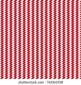 Cute Christmas or new year seamless background with red and white striped zig zag pattern background. Vector illustration, banner, template for design.
