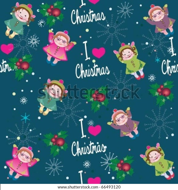 cute christmas wallpaper love christmas stock vector royalty free 66493120 https www shutterstock com image vector cute christmas wallpaper love 66493120