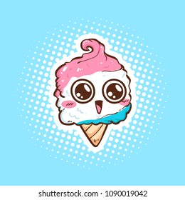 cute cotton candy cartoon
