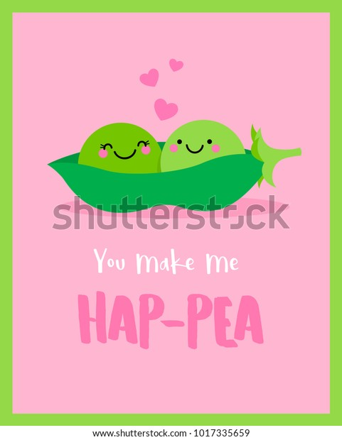 Image result for peas valentine's day card