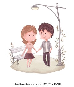 Boy and Girl Romantic Images, Stock Photos & Vectors   Shutterstock