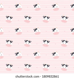 Cute Cow Print Hd Stock Images Shutterstock