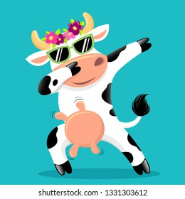 Cow Dance Images, Stock Photos & Vectors | Shutterstock