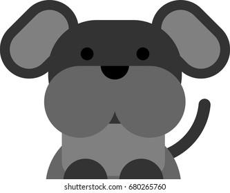 A cute dog art