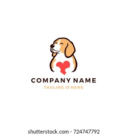 Colorful Dog Logo Images, Stock Photos & Vectors | Shutterstock