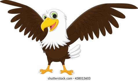cartoon eagle images stock photos vectors shutterstock rh shutterstock com eagle images cartoon download american eagle cartoon images
