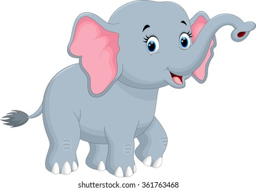 cartoon elephant images stock photos vectors shutterstock