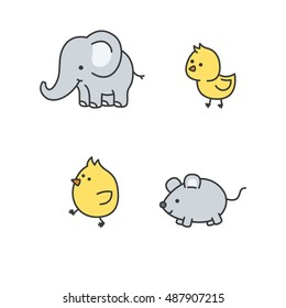 cute elephant drawing images stock photos vectors shutterstock