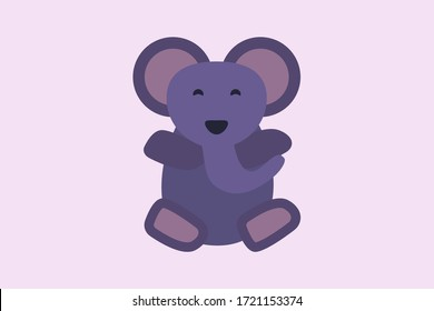 cute elephant vector design illustration