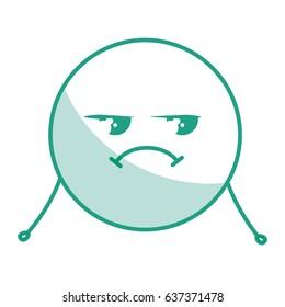 cute face emoticon kawaii character