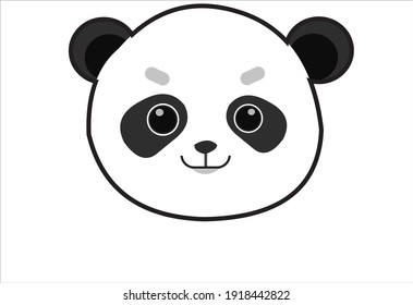 Cute Face Vector ilustration Icon
