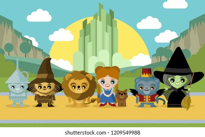 cute fairytale characters
