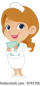 Cute Female Nurse