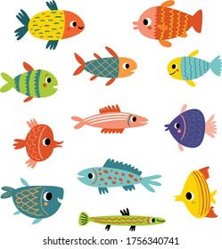 Kinds Fish Images Stock Photos Vectors Shutterstock