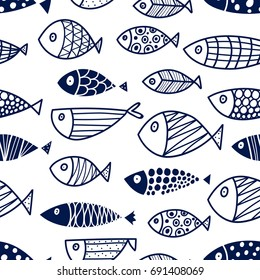 Fish Drawing Images, Stock Photos & Vectors | Shutterstock