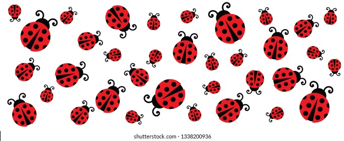 Cute fly flying ladybug Vector dotted route Vector fun funny track map pin navigation location pointer icon flight route gps Hello Let the spring begin line pattern seamless ladybugs love heart time