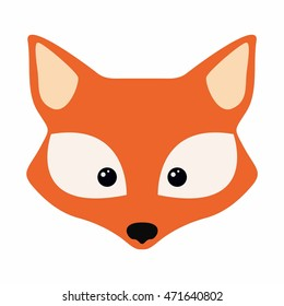 image regarding Printable Fox Masks identify Fox Mask Photographs, Inventory Images Vectors Shutterstock