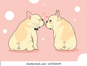 Royalty Free Cartoon French Bulldog Stock Images Photos Vectors