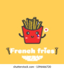 Kawaii French Fries Images Stock Photos Vectors
