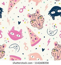 Cute funky pattern.
