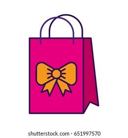 cute gift bag cartoon