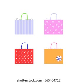 cute gift bags for shopping customers