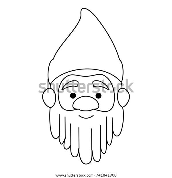 vintage gnome clip art