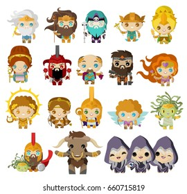 cute greek mythology gods and creatures