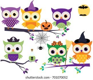 Halloween Owl Images, Stock Photos \u0026 Vectors