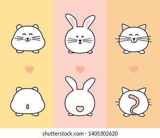 Vectores Imágenes Y Arte Vectorial De Stock Sobre Bunny Paw