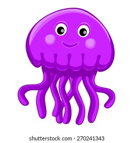 jellyfish cartoon images  stock photos   vectors Cute Animal Drawings Cute Forest Animal Clip Art