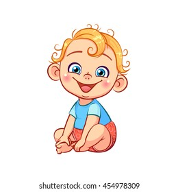 Cartoon Toddler Images, Stock Photos & Vectors | Shutterstock