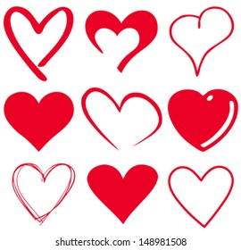 cute heart/T-shirt graphics