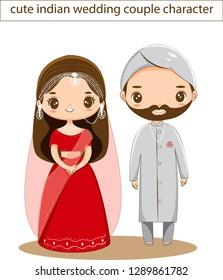 Indian Wedding Cartoon Images Stock Photos Vectors Shutterstock