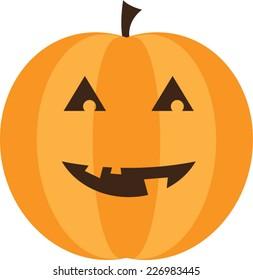 Cute Jack-O'-Lantern Pumpkin