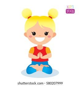 kids yoga stock illustrations images vectors shutterstock rh shutterstock com