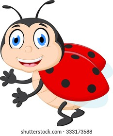 ladybug cartoon images stock photos vectors shutterstock rh shutterstock com ladybug cartoon characters ladybug cartoon youtube