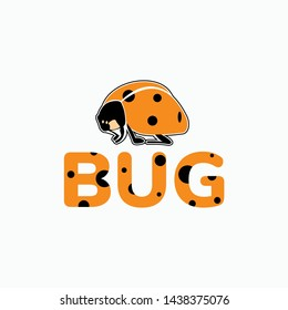 cute ladybug logo for your business