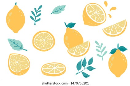 Lemon Clipart Cartoon Images Stock Photos Vectors Shutterstock The lemon, citrus limon osbeck, is a species of small evergreen tree in the flowering plant family rutaceae, native to asia. https www shutterstock com image vector cute lemoncitrus object collection cut half 1470755201
