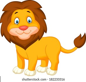 Cute Lion Clipart Hd Stock Images Shutterstock