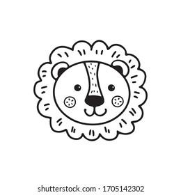 Lion Outline Images Stock Photos Vectors Shutterstock Lion symbol outline stock vector illustration 128273813. https www shutterstock com image vector cute lion face doodle style black 1705142302