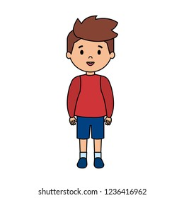 cute little boy character