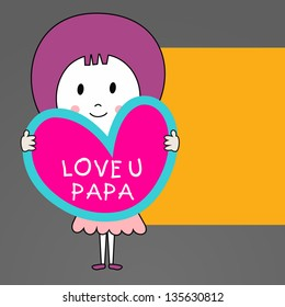 8656 I Love You I Love You Dad Images Royalty Free Stock Photos