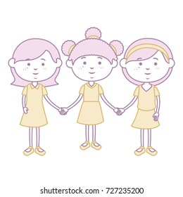 cute little girls characters