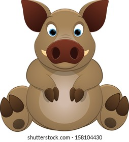 cute little hog